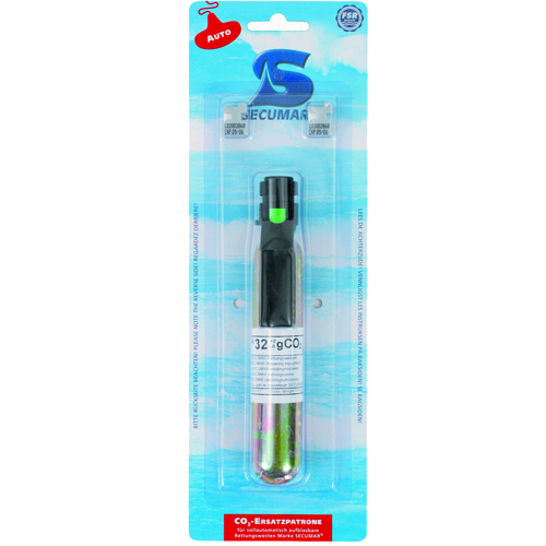 Secumar 32 gr. co2 dock-patroon met bajonet + pill-box (2)