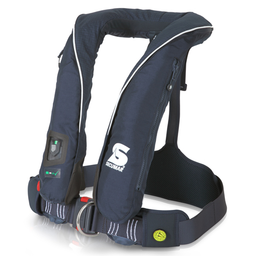 Secumar reddingsvest survival 220 blauw/wit