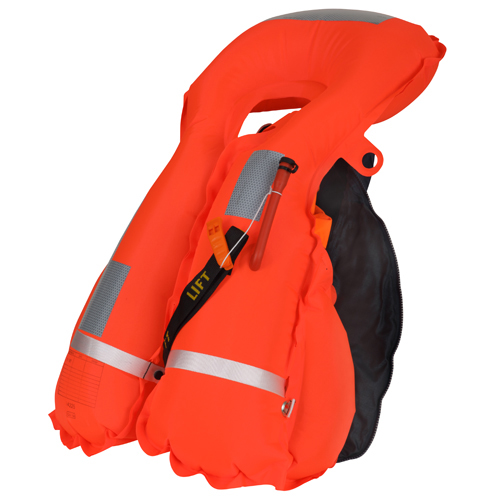 Secumar reddingsvest survival 220 zwart/oranje