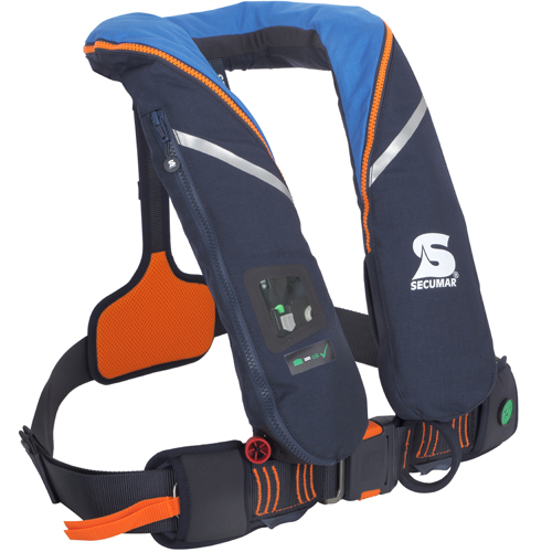 Secumar reddingsvest survival 220N blauw / oranje