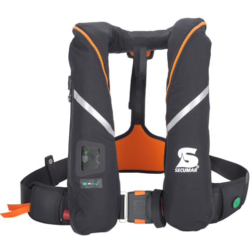 Secumar reddingsvest survival 275N zwart / oranje
