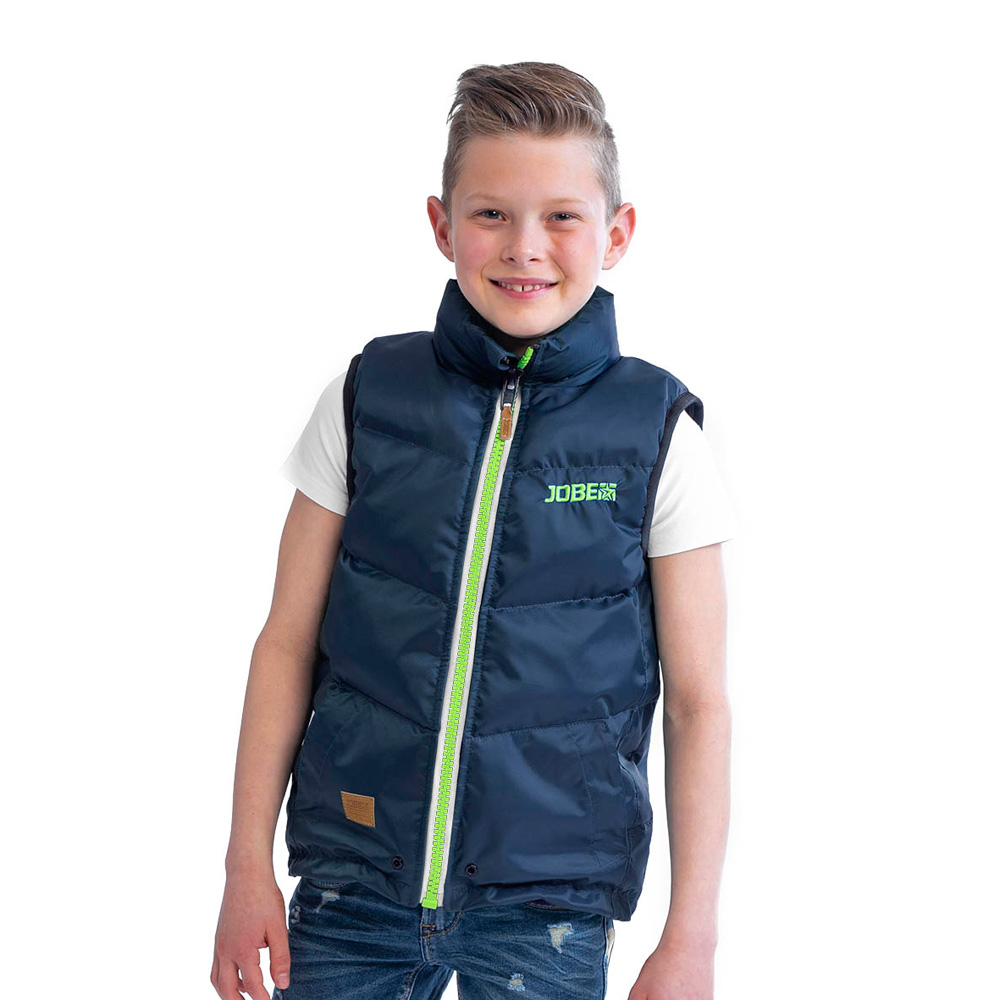 Jobe 50 Newton Bodywarmer Youth Midnight blauw