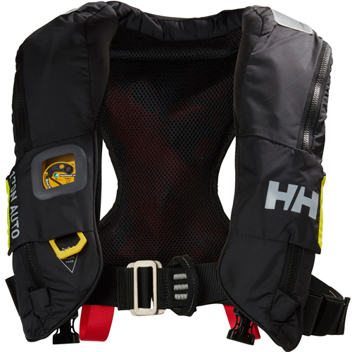 Helly Hansen sailsafe inflatable race reddingsvest zwart 150n