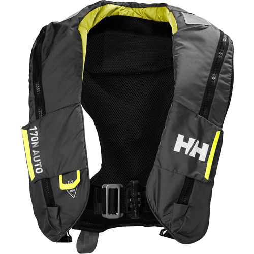 Helly Hansen sailsafe inflatable coastal reddingsvest zwart