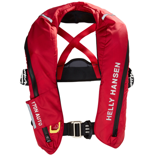 Helly Hansen sailsafe inflatable inshore rood reddingsvest