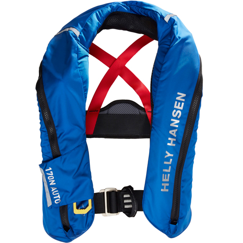 Helly Hansen sailsafe inflatable inshore reddingsvest blauw