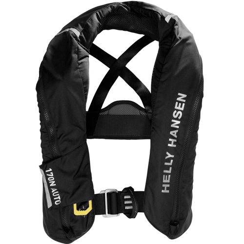 Helly Hansen sailsafe inflatable inshore reddingsvest zwart 150n