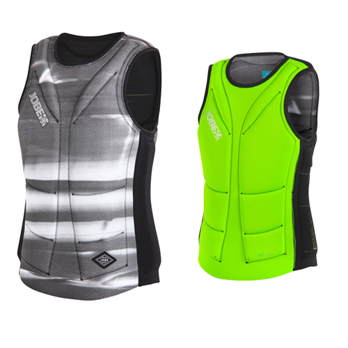 Jobe reversible comp impact shield heren lime-groen zwart