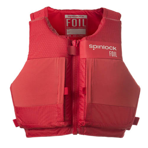 Spinlock Foil zwemvest rood