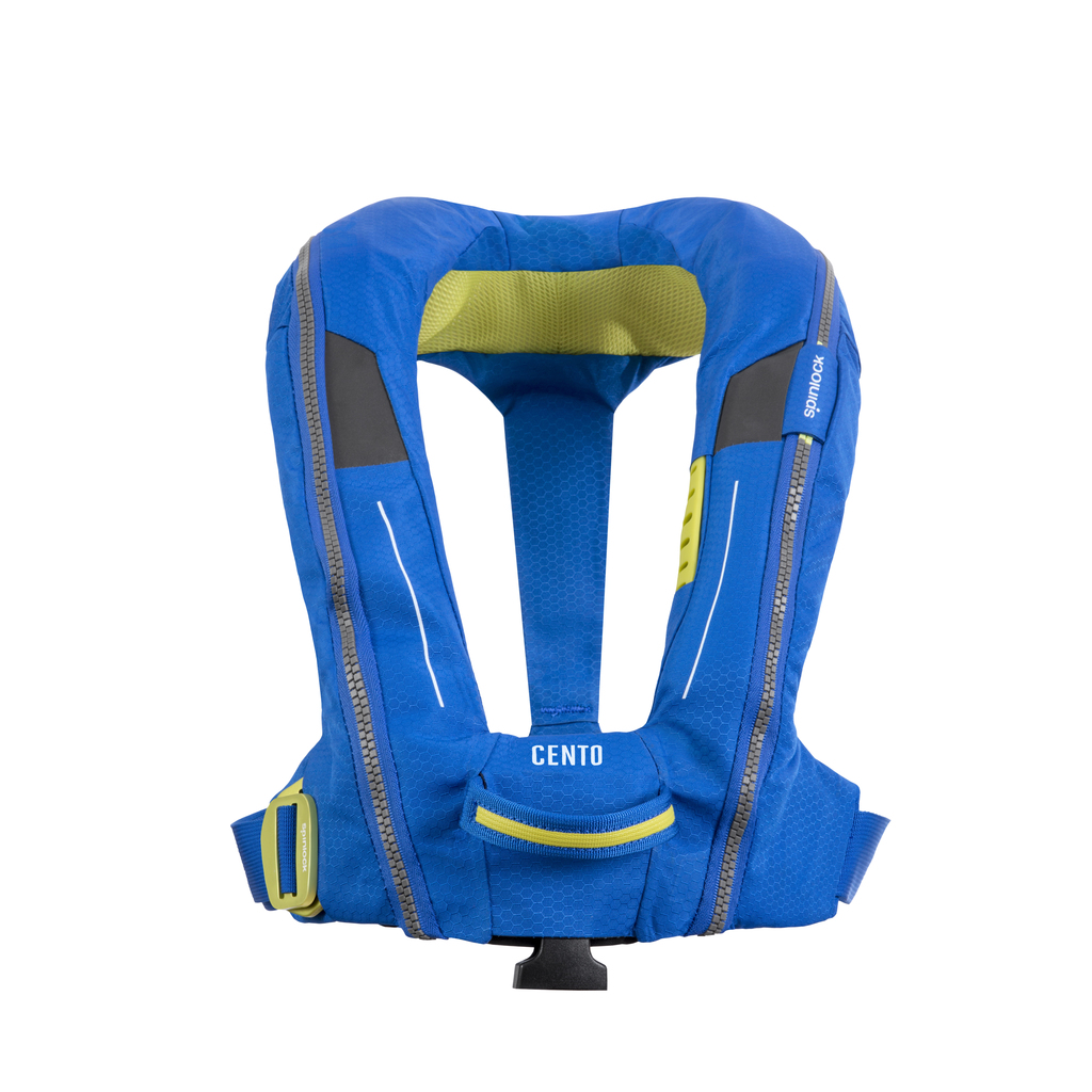 Spinlock Cento Junior zeil reddingsvest 150N  blauw