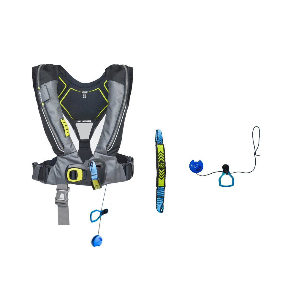 Spinlock Deckvest 6D 170N, pacific blauw, quick release