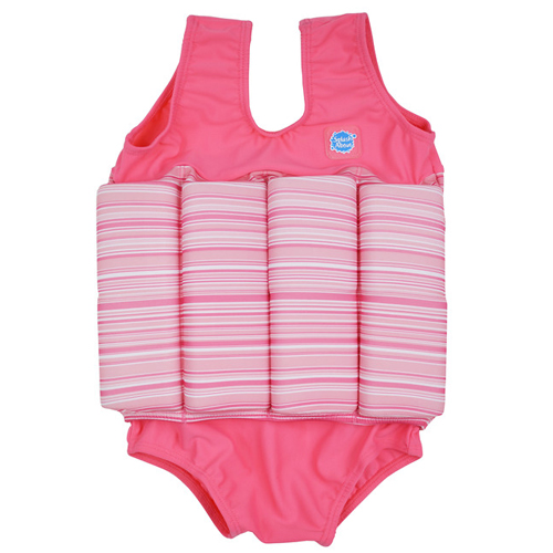 Splash About float suit pink candy met rits