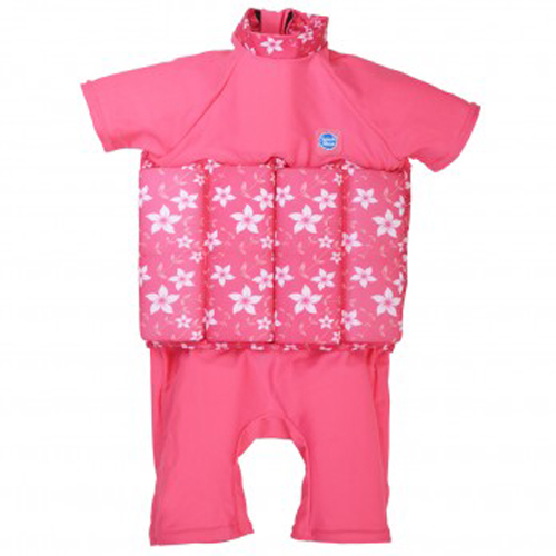 Splash About uv floatsuit pink blossom